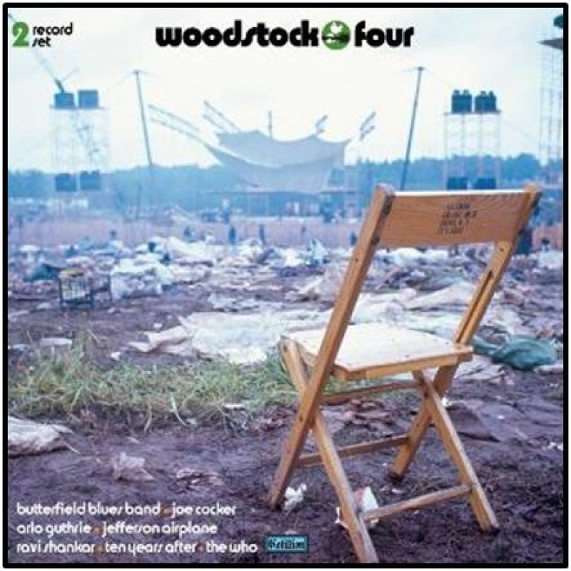 Woodstock Four (Olive Green/White vinyl)