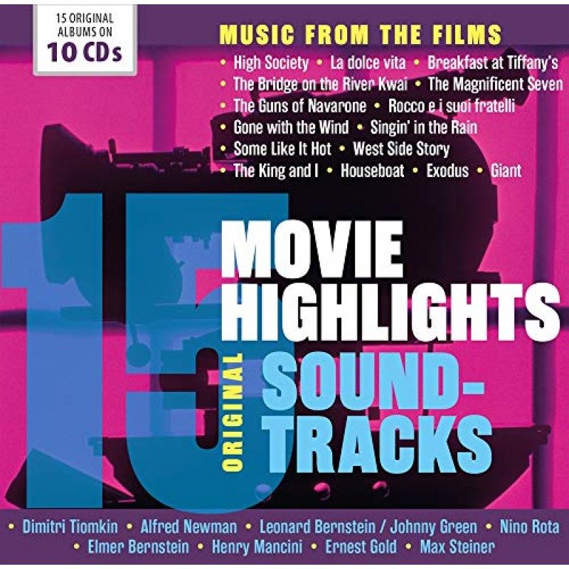 15 Movie Highlights - Original Soundtracks