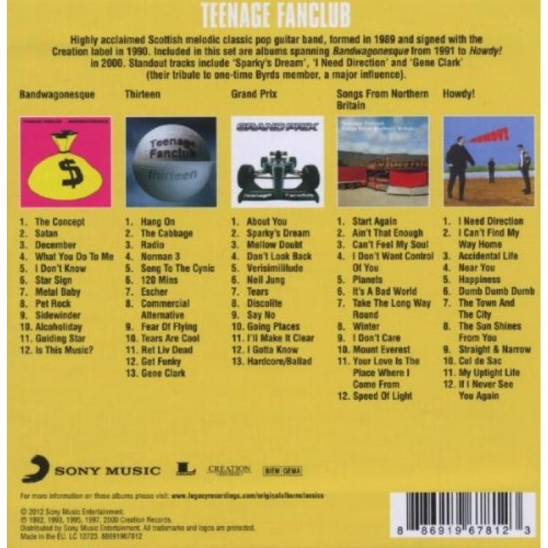 Original Album Classics TEENAGE FANCLUB