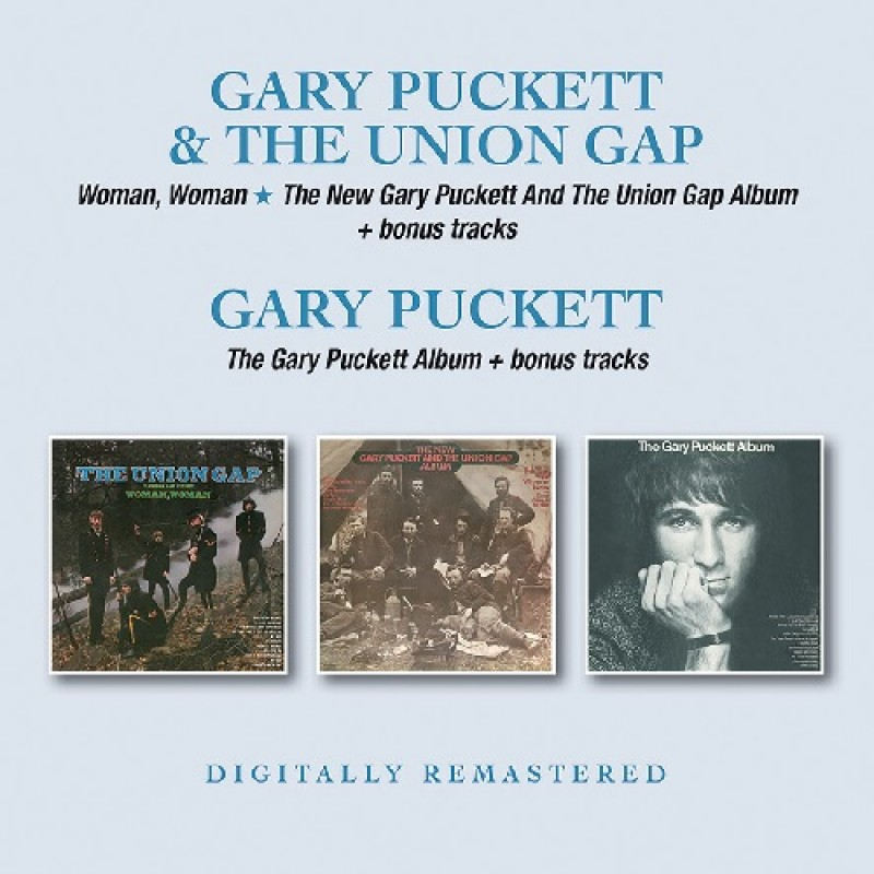 Woman Woman + New Gary Puckett And The Union Gap Album + Gary Puckett Album