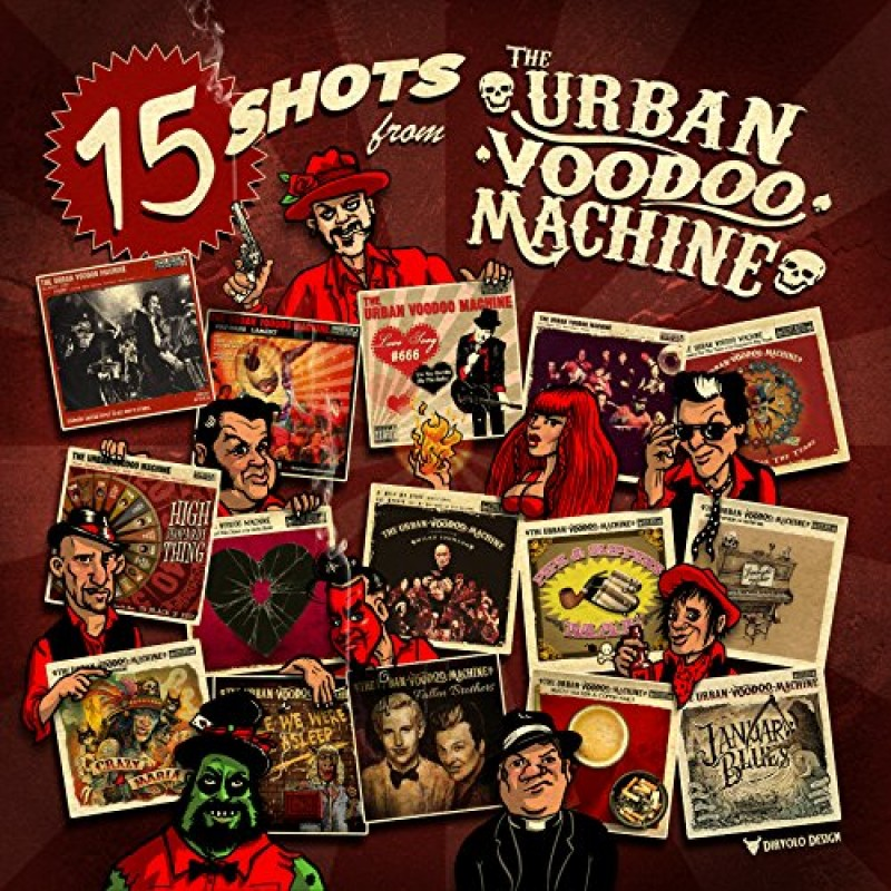 15 Shots From The Urban Voodoo Machine